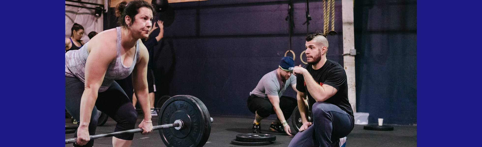 Get Started with SODO Fitness Mechanics and sign up for a free intro session!